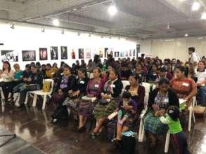 Full house for Abriendo Oportunidades!