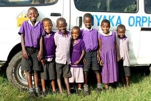 Nyaka Primary 1 Students