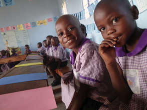 Nyaka Primary Nursery Students in Class