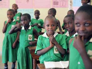 Kutamba Primary Students In Class