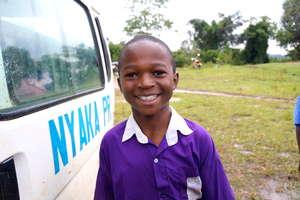 Nyaka Primary Student Smiling