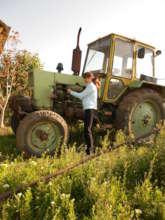 Farmer in Moldova