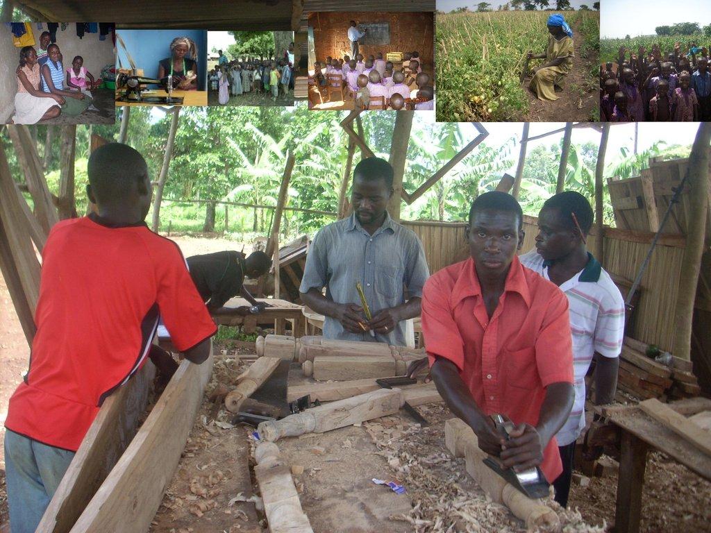 Work skills for 100 victims of injustice in Uganda