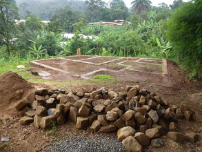 Finished foundation of the Training Centre