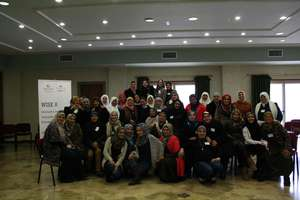 The participants complete the training!