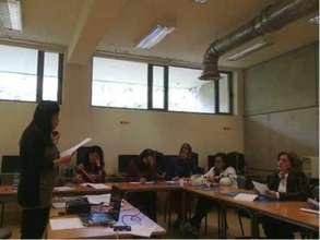 WEL participants receive IT training
