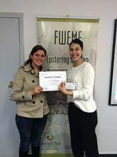 Entrepreneur Rima with TYO's Nadine