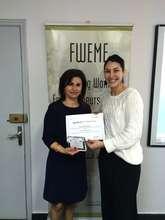 Entrepreneur Helene with TYO's Nadine