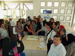 WEL participants in business training session