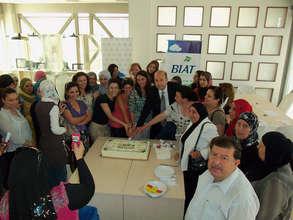 WEL participants celebrate successful training