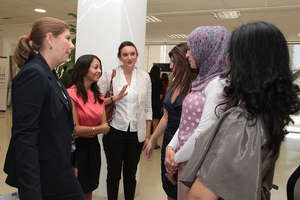 TYO staff meets with WEL participants