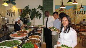 Pangea Advisors sample WEL women's cooking