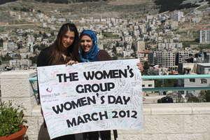 The women celebrate International Women's Day!
