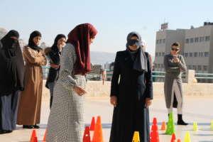 Entrepreneurship training games in Nablus