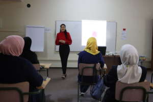 Presentations during 'Business English' course