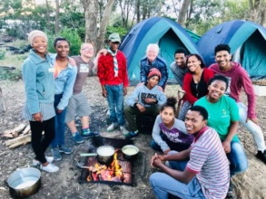 Springbok Scouts Camp held on our grounds!