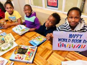 "Our children celebrating ""World Book Day"""