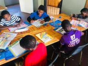 """home schooling"" at our youth centre!"