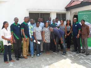 Group Photo at the Mentoring Consultation