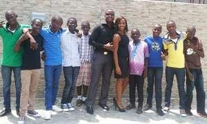 Group Photo at Monty Buffet