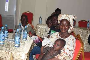 Children's families were invited to the Launch