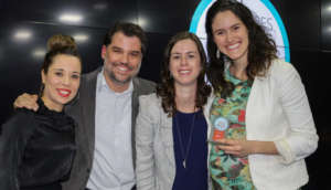 Andrea Resende receives the Best NGO Award