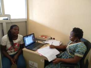 a one on one follow up with Jeanet in the office