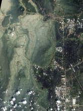 NASA Satellite Image of Flooding