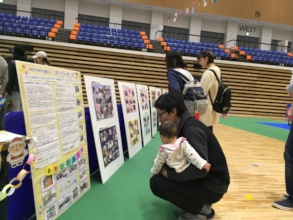 Participants Staring at Posters