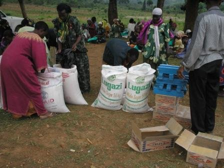 Christmas gifts for 100 orphans in Masaka