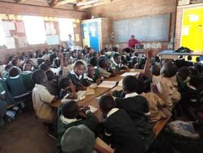 Education changing lives in Zimbabwe.
