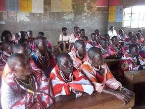 Maasai women at the Elders & Mothers Workshop