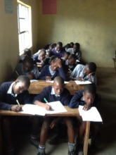 Engaboli Primary School, Boy Life Skills Workshop