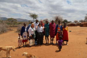 Visit to a Local Boma