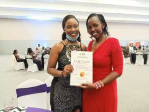 Lucy And Nancy Receive The DIAR Award