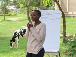 MGEF Alumna Facilitates Mentoring Workshop