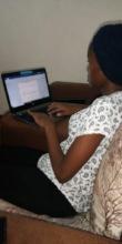 MGEF University Student Attending An Online Class