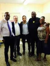 Drs. Toby, Arlet, Saifi & parents of 10 yr old pat
