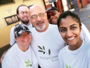 Duncan Tree volunteers at KPH in Kingston 2018