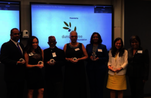 Founder Ouida Duncan (far right) and Award Winners