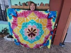 Dwaine living her tie dye dream (Philippines)