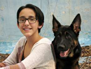 Lindsay and Finn - our 100th Grant Recipient