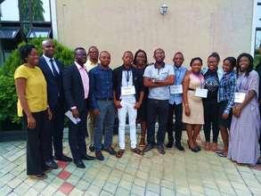 Mentorsat the #girlsinICT event in Rivers, Nigeria