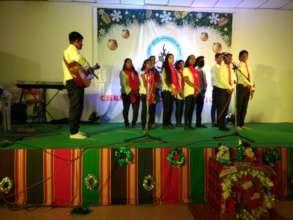 Capstone Christmas program