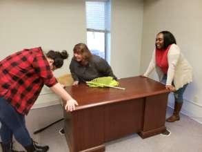 Staff Moving Fun
