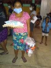 Food and sanitary supplies