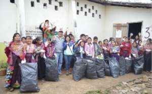 clean up in Chiapas