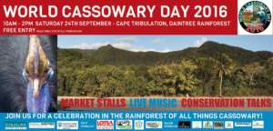 Daintree World Cassowary Day promotion