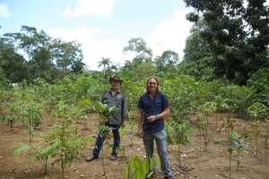 Rainforest Rescue CEO, Julian, & Land Manager Jo