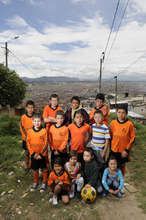 Kids from Altos de Cazuca